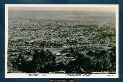Australia Adelaide From Observation Point Postcard