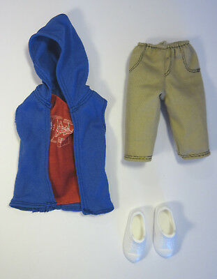 Hip Hoodie Fashionista Ken Outfit Barbie Fashion Number 5 Mattel Doll Clothes