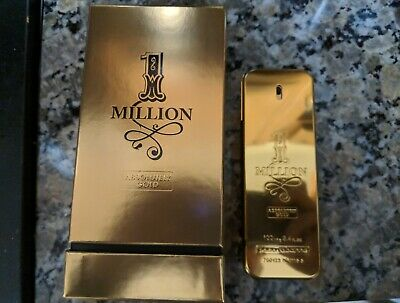 1 Million Absolutely Gold By Paco Rabanne For Men 100 Authentic