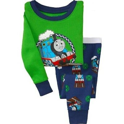 Kids Boys Thomas Pajama Set Size 2T Boys birthday present warm nightwear pyjamas