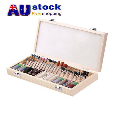 AU 238pcs Electric Drill Grinder Rotary Tool Accessories Bit Grinding Polishing