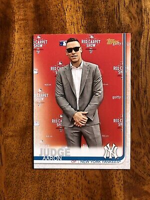2019 Topps Series 1 AARON JUDGE SP Photo Variation Short Print