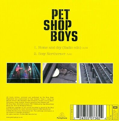 Pet Shop Boys, Home And Dry, Dutch CARDSLEEVE Single CD