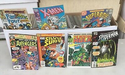 Huge Collection Lot Of 250  comic Books Storage Unit Find . all Marvel & Dc