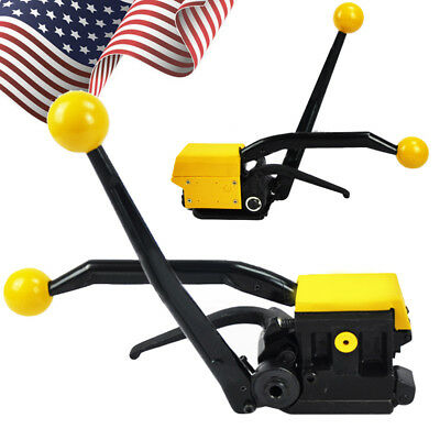 """USA A333 Manual Sealless Steel Strapping Tools for Strap Width 1/2""""-3/4"""" 13-19mm"""