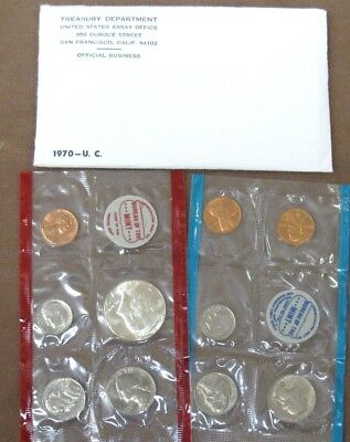 1970 Small Date United States Mint Sets