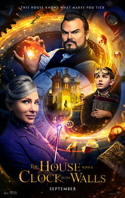 THE HOUSE WITH A CLOCK IN ITS WALLS great original 27x40 D/S movie poster (s01)