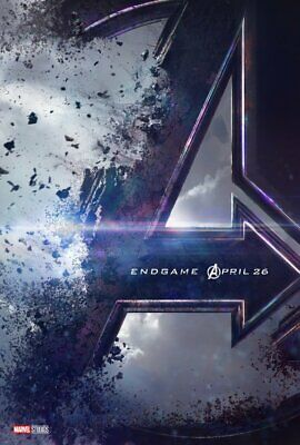 AVENGERS: ENDGAME great original 27x40 D/S movie poster LOW INVENTORY (th049)