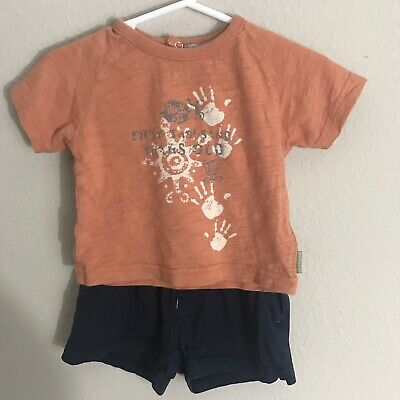 Premaman Baby Boys Outfit 6 Months Short Sleeves Shirt & Shorts A15