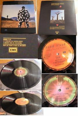 PINK FLOYD-DELICATE SOUND OF THUNDER 2xLP VINYL 1stPRESS GREECE 1988 G/F INNER M