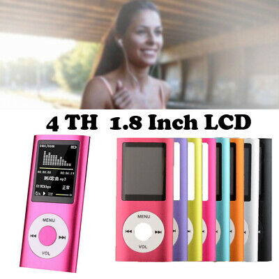 MP4 Player 32GB Portable LCD MP3 Music Video Media Headphones Earphones