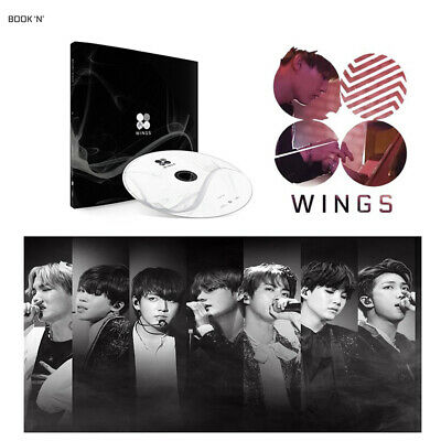 BTS Vol 2 BANGTAN BOYS KPOP 2nd Album WINGS [ N Version ] CD+Photobook+Photocard