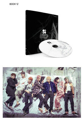 BANGTAN BOYS KPOP BTS WINGS Vol2 Album [G Ver]CD+Poster+Photobook+Photocard+Gift