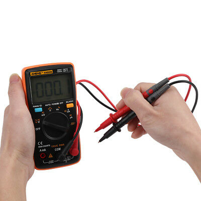 ANENG AN8008 DMM Digital Multimeter AC/DC Voltage Ammeter Current Ohm Meter ly