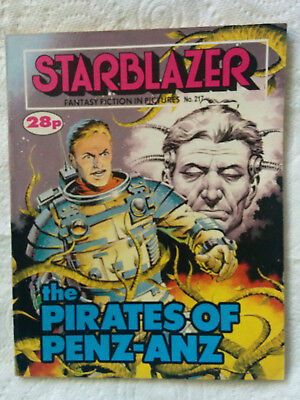 "Starblazer #217 ""THE PIRATES OF PENZ-ANZ"" published by DC Thomson"