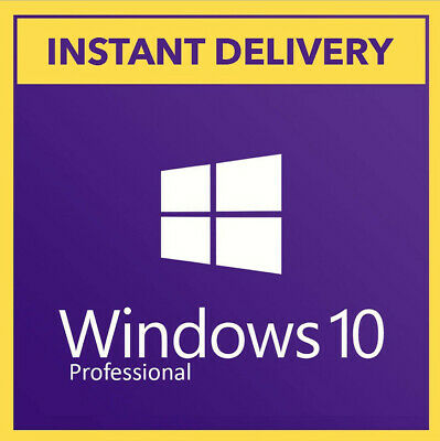 Microsoft Windows 10 Professional - Win 10 Pro - License Code Key - Original New