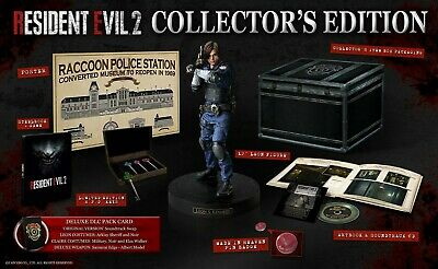 Resident Evil 2 Remake Collectors Edition PlayStation 4 (EU version)