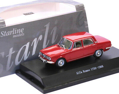 1:43 Starline - Alfa Romeo 1750 Berlina 1968 - rot