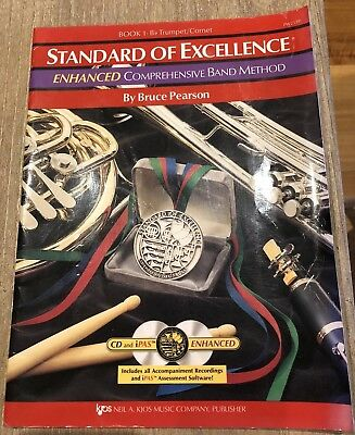 Bruce Pearson -Standard of Excellence (SOE) Book 1 - Trumpet / Cornet 2x CDs