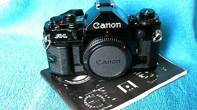 Canon A1 body. Immaculate condition.