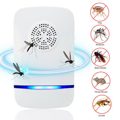 Electronic Ultrasonic Pest Repeller Cockroach Mosquito Pest Mouse Insect Control