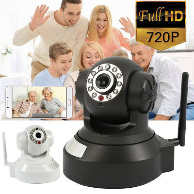 Wireless HD Network Baby Monitor Security IP Camera P2P Motion WIfi Night Vision