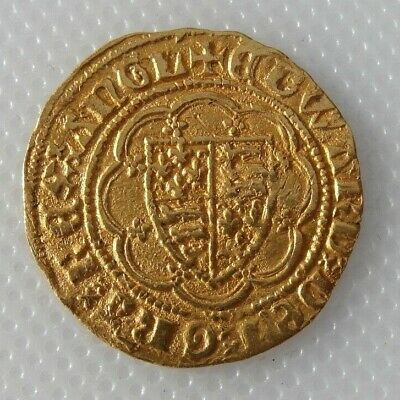 Collectable Lovely King Edward III Hammered Gold Coin - PLEASE READ