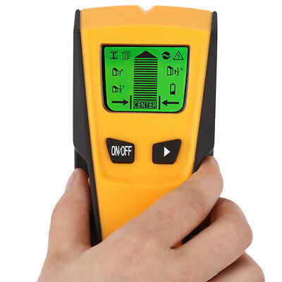 FLOUREON TH-210 3 in 1 Stud Center Finder Metal AC Live Wire Detector+backlight