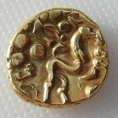 Collectable Celtic Gold Stater Coin - Ambiani E Gallic War - PLEASE READ