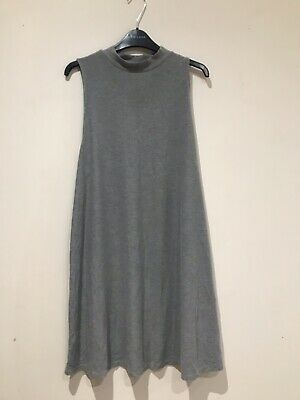 Topshop Dress Grey Maternity Dress Size 16