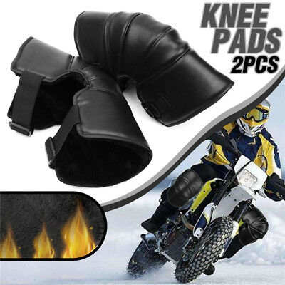 2pcs Adult Motorcycle Knee Armour Protective Guards Pads Adjustable Motorbike