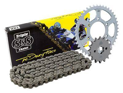 Triple-S Gold O-Ring Chain Sprocket Kit Suzuki GSF1250 SA Bandit Traveller 2010