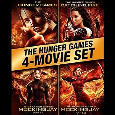 The Hunger Games : complete 4 film collection ( Blu-ray)