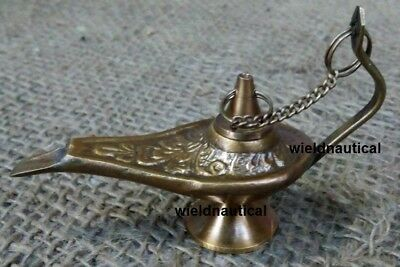 Antique Home Décor Lamps Antiquated Solid Brass Aladdin Jin Lighting Lamp BA 02