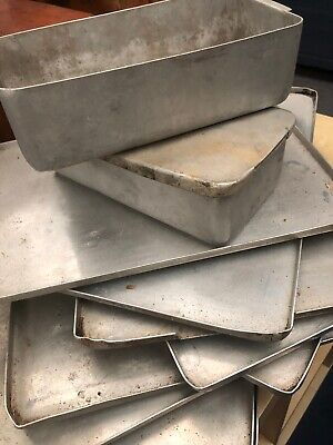 Grundy Vintage Old School  Aluminium Oven Trays - Baking Cooking Kitchenalia