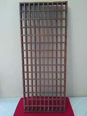 Vintage Wooden Grate Cold Air Return - 30 x 12 x 1 1/8 inches
