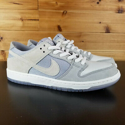 1a25e74d2828a0 Nike SB Zoom Dunk Low Pro Mens Shoes Sz 10.5 Wolf Grey Summit White 854866  011