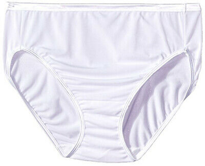 38f4aa3a5ff5 VANITY FAIR WOMEN'S Illumination Hi Cut Panty 13810, Star White, 9 ...