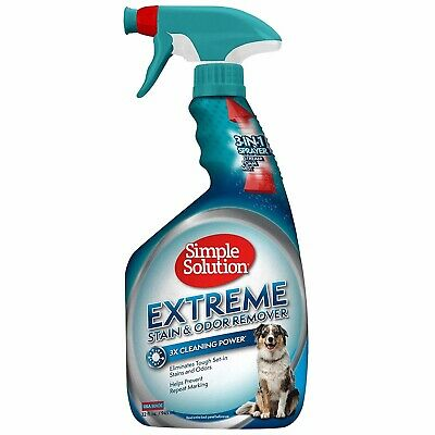 Simple Solution Extreme Pet Stain and Odor Remover With Pro-Bacteria and Enzyme