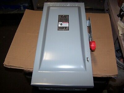 New Siemens 100 Amp Non-Fusible Safety Switch 3P 3W Nema 1 Indoor Hnf363