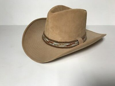 9ee72b950eac2 VINTAGE THE TEXAS Hat Company Straw Cowboy Hat (Large) -  15.99 ...