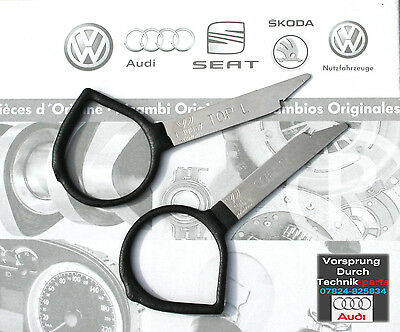 Genuine Audi Radio Removal Unlocking Extraction Release Fitting Keys - T10057