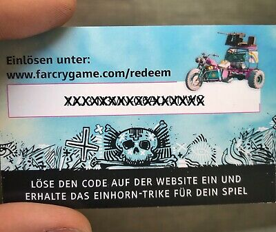 FAR CRY NEW DAWN Pre-Order Vorbesteller DLC Bonus Code Trike EU |  XBOX1 PS4 PC