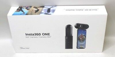 *new In Box* Insta360 One 360 4K Hd Video Action Camera - Black - 24 Mp