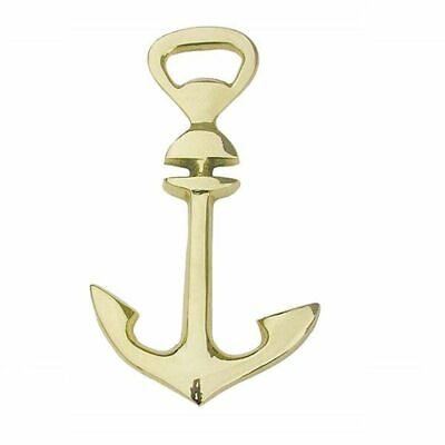 G4408: Bottle Opener Anchor Maritime Bottle Opener Bottle Opener Polished Brass