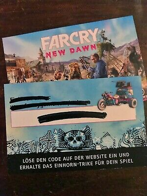 Unicorn Trike FAR CRY NEW DAWN Pre-Order DLC Code +++ Multiplatform (PC/PS/XBOX)