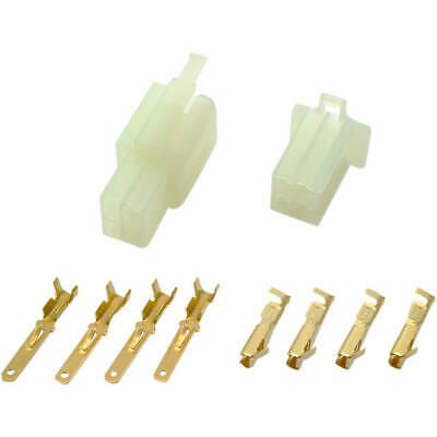 Shindy Water-Resistant Motorcycle Wire Connector Set 4-Pin
