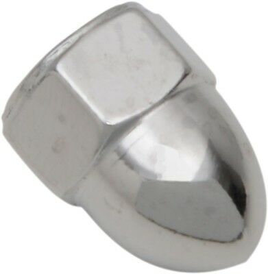 "Drag Specialties Acorn Nut 1/4""-20 Chrome 10-Pack"
