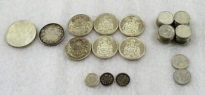 Canada Lot of $8.85 in 80% Silver Canadian Coins
