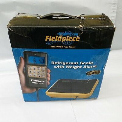 Fieldpiece SRS1 Residential, Light Commercial Refrigerant Scale with case #12344